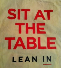 Sit at the table